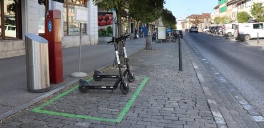 Bulle : l'offre de trottinettes électriques en libre-service se poursuit