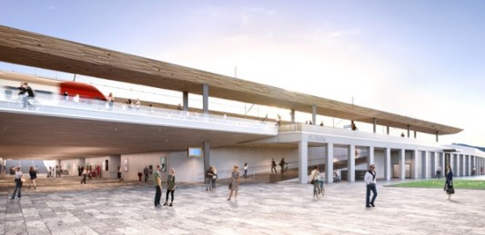 Les aménagements intérieurs de la première vélostation du canton à l'enquête publique